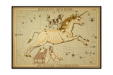 Monoceros and Canis Minor Constellations  1825