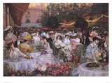 Georges Jeanniot - Le Diner A' L'Hotel Ritz