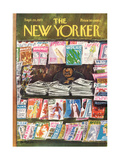 The New Yorker Cover - September 24  1973