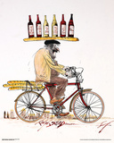 Ralph Steadman- Wine & Bicycle