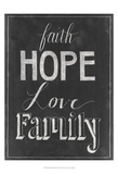 Chalkboard Faith I
