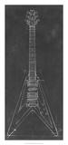 Electric Guitar Blueprint I