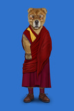 Tibet (Pets Rock) Reproduction d'art par Takkoda