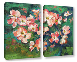 Pink Dogwood 2 Piece Gallery Wrapped Canvas Set