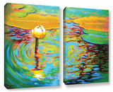 Belchertown Lily 2 Piece Gallery Wrapped Canvas Set