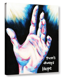 There's Always Hope Gallery Wrapped Canvas