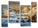 Atlantic Drive Waves 4 Piece Gallery Wrapped Canvas Set
