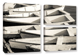 Maine's Boats 3 Piece Gallery Wrapped Canvas Set