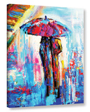Parisian Love Gallery Wrapped Canvas
