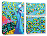 Am I Blue 3 Piece Gallery Wrapped Canvas Set