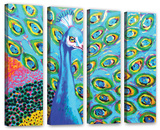 Am I Blue 4 Piece Gallery Wrapped Canvas Set