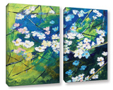 Cherry Blossoms 2 Piece Gallery Wrapped Canvas Set