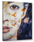 Geisha Gallery Wrapped Canvas