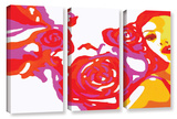 Flowers Of Las Vegas 1 3 Piece Gallery Wrapped Canvas Set