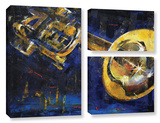 Trumpet 3 Piece Gallery Wrapped Canvas Set