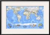 1988 World Map