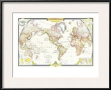 1951 World Map
