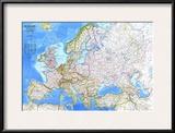 1983 Europe Map