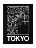 Black Map of Tokyo