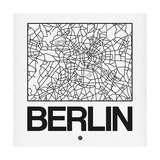 White Map of Berlin