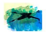 Star Warrior X-Wing Watercolor 2
