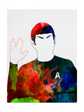 Spock Watercolor