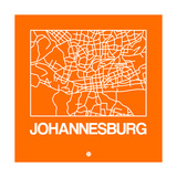 Orange Map of Johannesburg