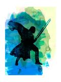Darth Fighting Watercolor 2