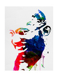 Mahatma Gandhi Watercolor