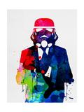 Trooper in Suit Watercolor