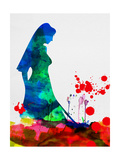The Bride in Blood Watercolor