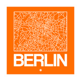 Orange Map of Berlin