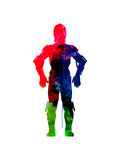 Star Hero Watercolor
