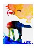 Star Ground Warrior Watercolor