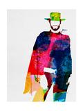 Man with No Name Watercolor Reproduction d'art par Lora Feldman