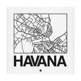 White Map of Havana
