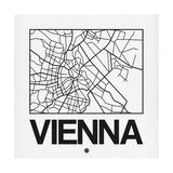 White Map of Vienna
