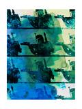 Boba Fett Collage Watercolor 1