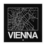 Black Map of Vienna