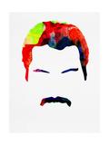 Freddie Watercolor Reproduction d'art par Lora Feldman