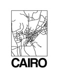 White Map of Cairo