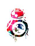 BB8 Watercolor 1