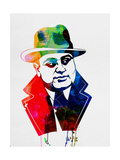 Al Capone Watercolor