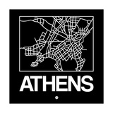 Black Map of Athens