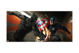 Captain America: Civil War - Captain America and Black Panther