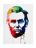 Abraham Lincoln Watercolor