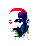 Martin Luther King  Jr Watercolor