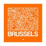 Orange Map of Brussels