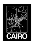 Black Map of Cairo