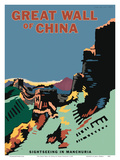 The Great Wall of China - Sightseeing in Manchuria (Manzhou) - Manzhou Railway Administration